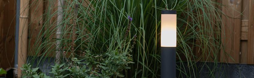 Éclairage jardin