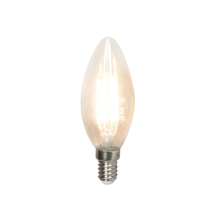 Lampe-à-bougie-à-filament-LED-dimmable-E14-B35-3.5W-350-lm-2700K