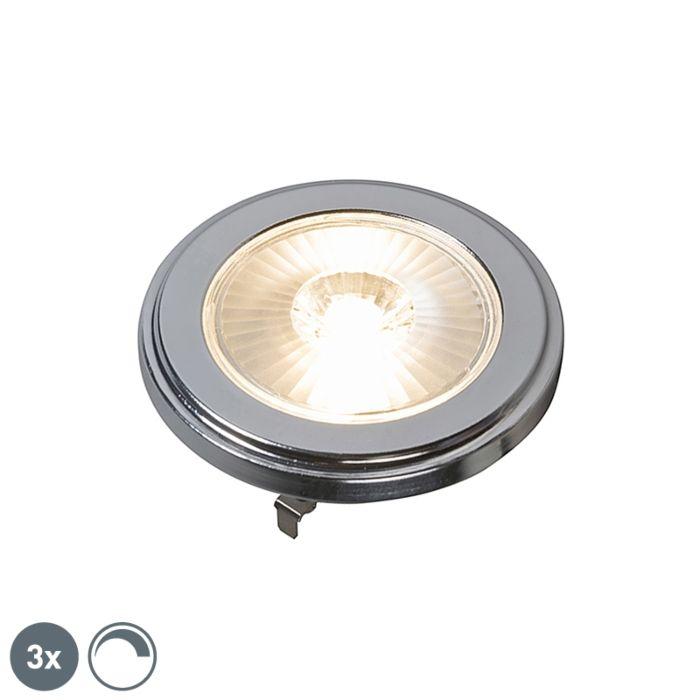 Ensemble-de-3-lampes-à-LED-AR111-dimmables-G53-10W-800LM-3000K