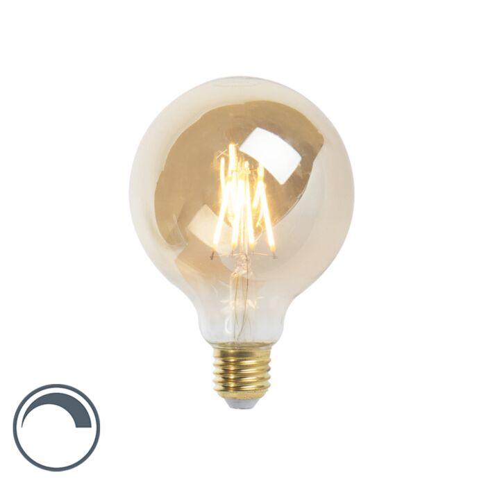 Lampe-à-filament-LED-E27-dimmable-G95-goldline-360lm-2200K
