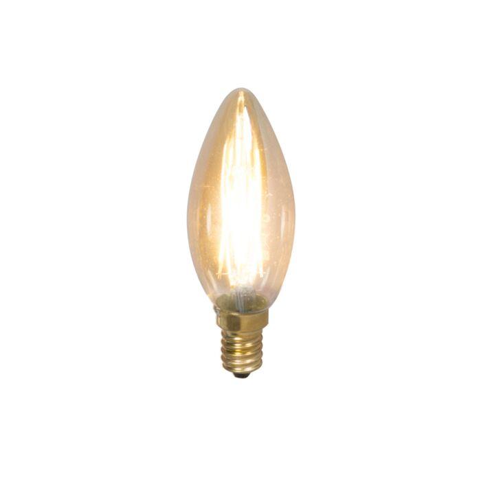 Lot-de-5-bougies-à-filament-LED-E14-dimmables-200lm-2100-K.