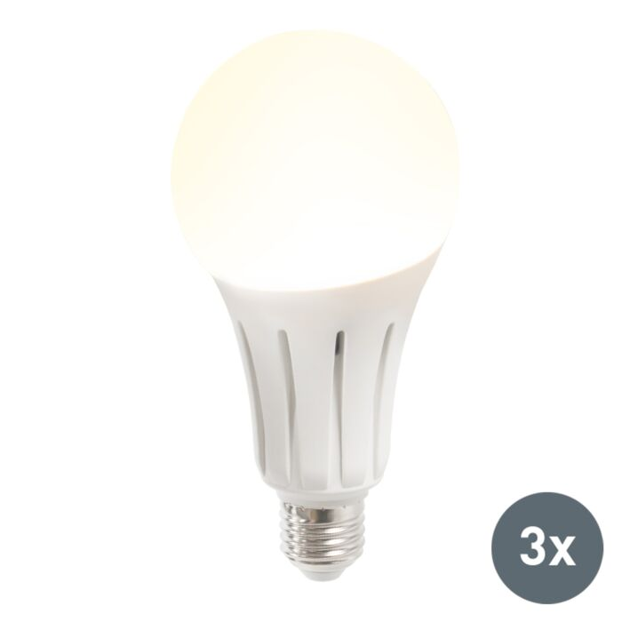 Set-de-3-ampoules-LED-B80-24W-E27-blanc-chaud