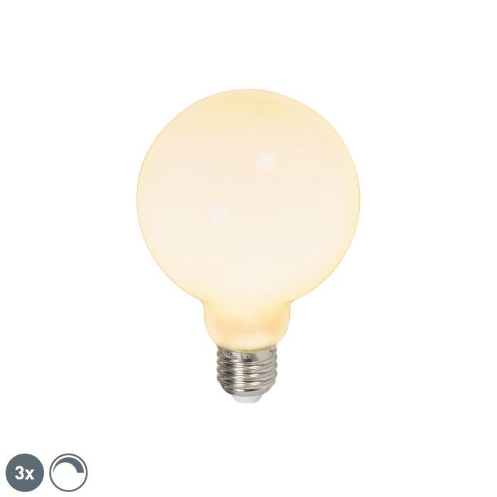 Lot-de-3-ampoules-LED-E27-240V-6W-650lm-dimmable
