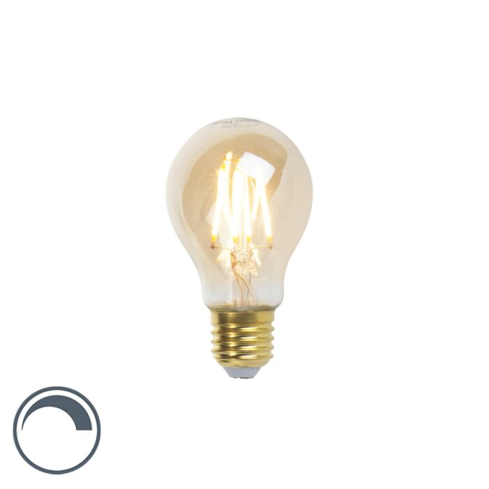 Lampe-à-filament-LED-Goldline-E27-5W-360lm-A60-dimmable