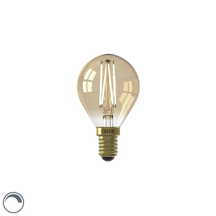 Lampe-LED-E14-dimmable-P45-goldline-3.5W-200-lm-2100K