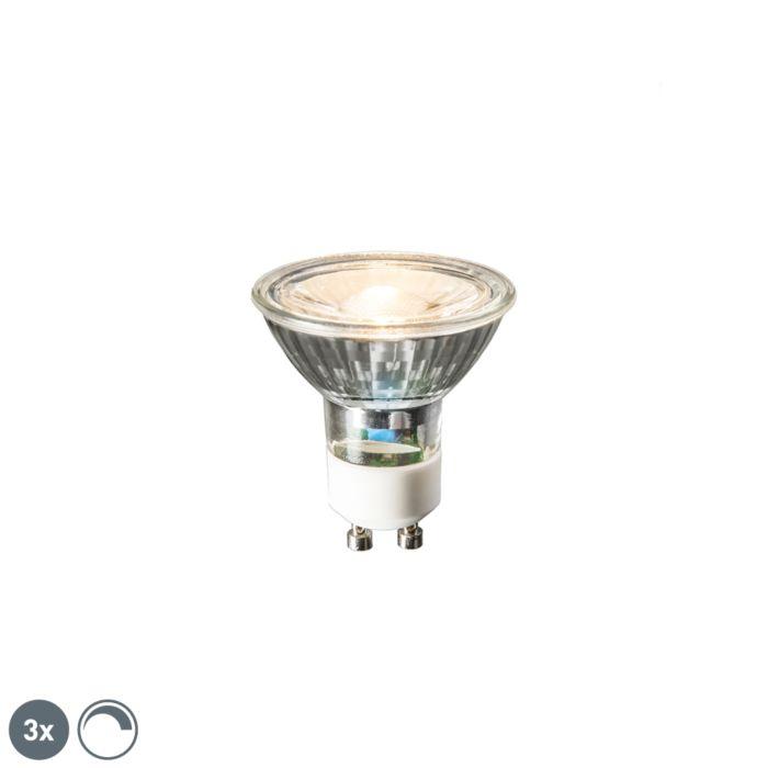 Lot-de-3-lampes-LED-GU10-6W-450-lumens-2700K-dimmable