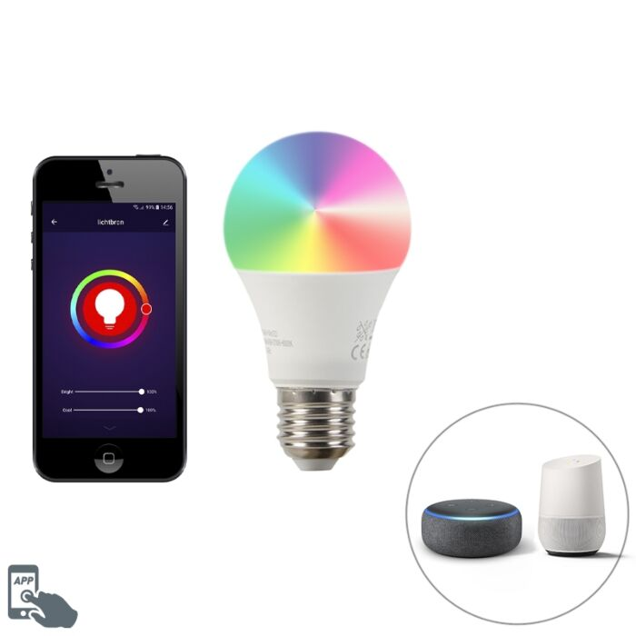 Lampe-LED-dimmable-Smart-E27-A60-9W-700-lm-2200-4000K