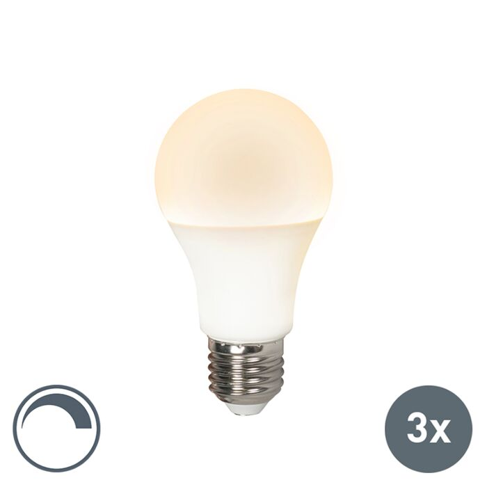 Ampoule-LED-E27-240V-10W-810lm-A60-dimmable-Pack-de-3