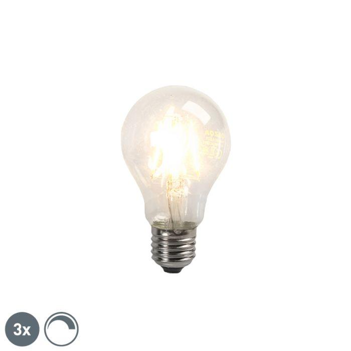 Lot-de-3-ampoules-à-filament-LED-E27-4W-390lm-dimmable