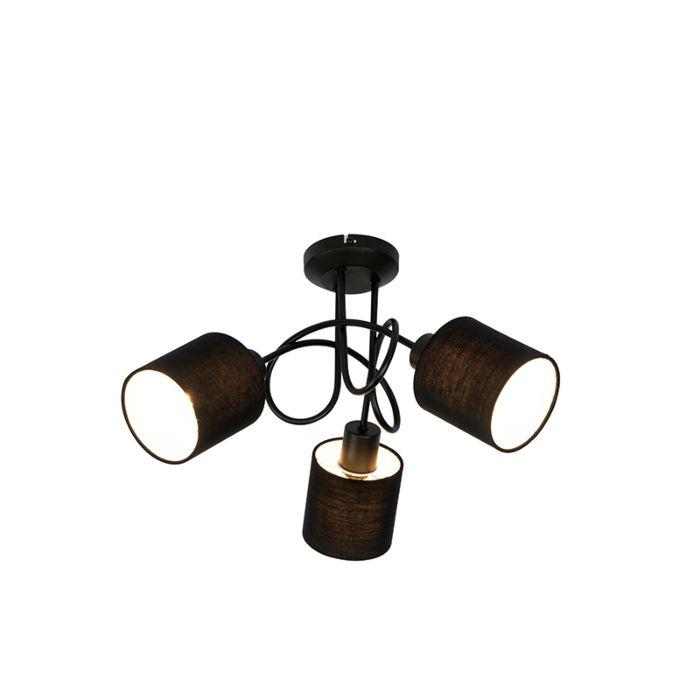 Spot-de-plafond-noir-3-lumières---Hetta