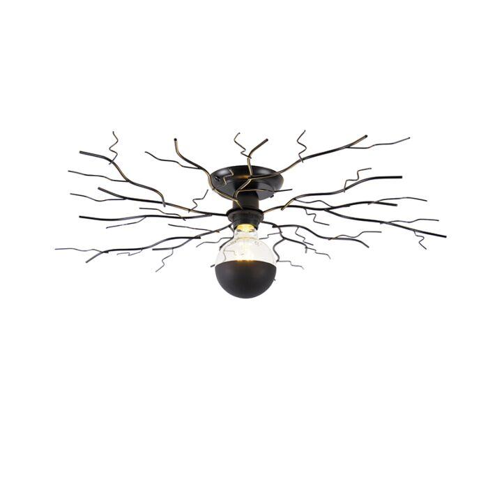 Plafonnier-Art-Déco-noir-50-cm---Ramuri