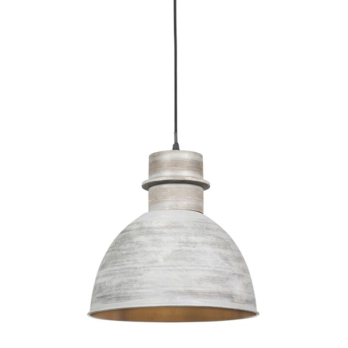 Suspension-intelligente-grise-30-cm-avec-source-lumineuse-WiFi-A60---Dory