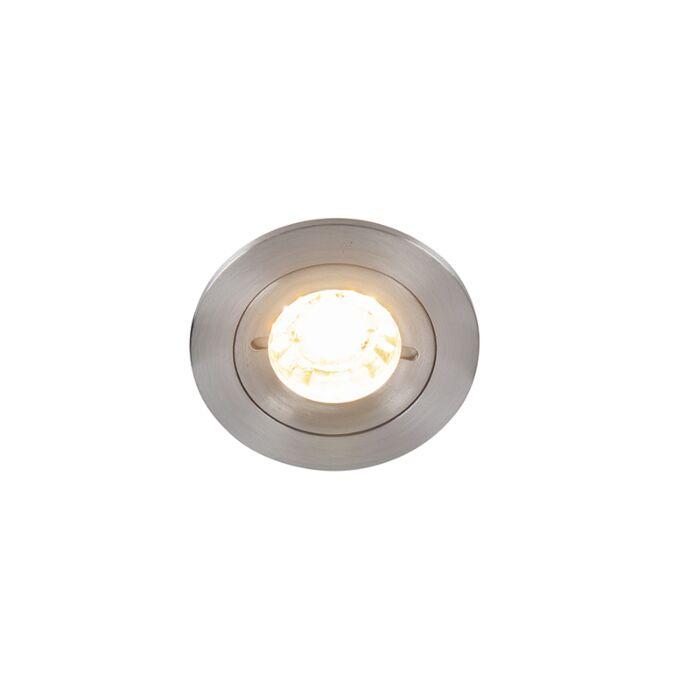 Spot-encastrable-moderne-en-aluminium-IP44---Xena-Round