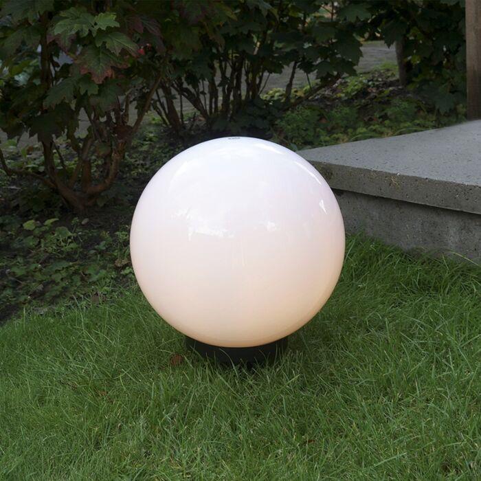 Lampe-d'extérieur-moderne-avec-broche-de-masse-30-cm-IP44---Ampoule