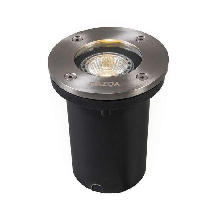 Spot-de-sol-extérieur-en-acier-IP65---Basic-Round