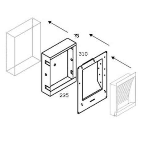 Delta-Light-boîte-béton-139-avec-kit-plâtre