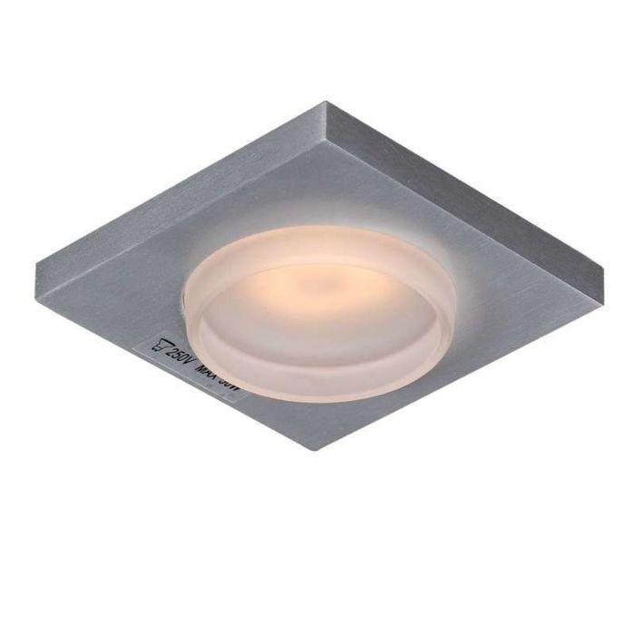Spot-encastré-salle-de-bain-Spa-Glas-carré