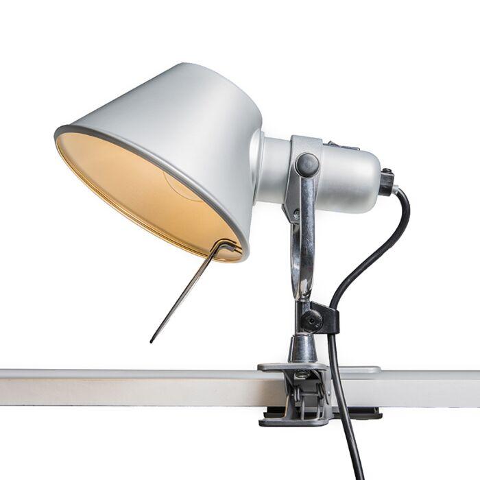 Lampe-de-table-Artemide-réglable---Artemide-Tolomeo-Pinza