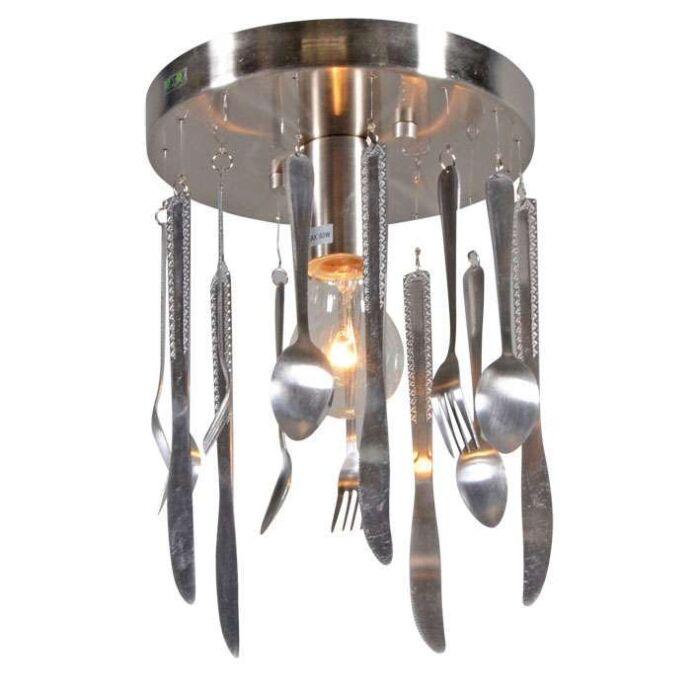 Plafonnier-Kitchen-en-acier