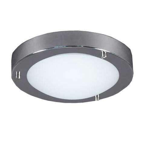 Plafonnier-salle-de-bain-Yuma-en-acier-chromé-18cm