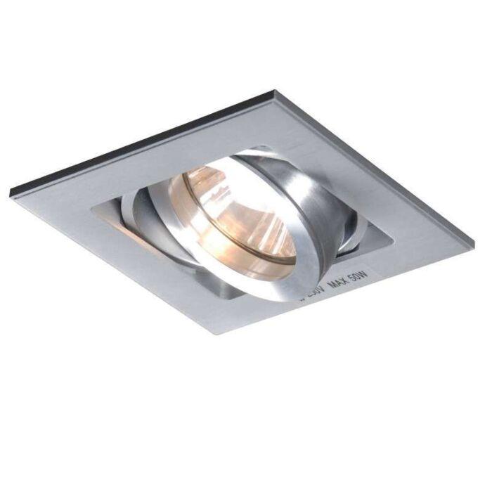 Spot-encastré-Quadro-aluminium