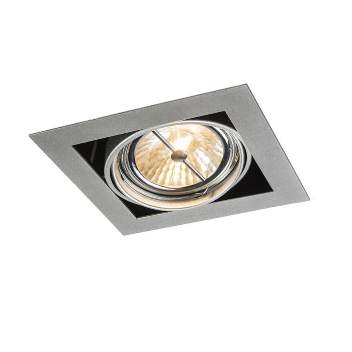 Spot-à-encastrer-carré-en-aluminium-réglable-à-1-lumière---Oneon-111-1