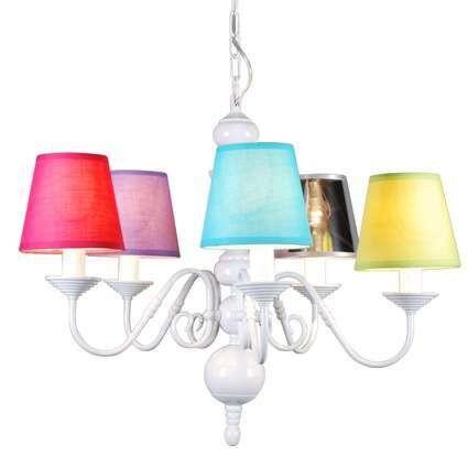 Lustre-Old-Dutch-5-lumières-blanc