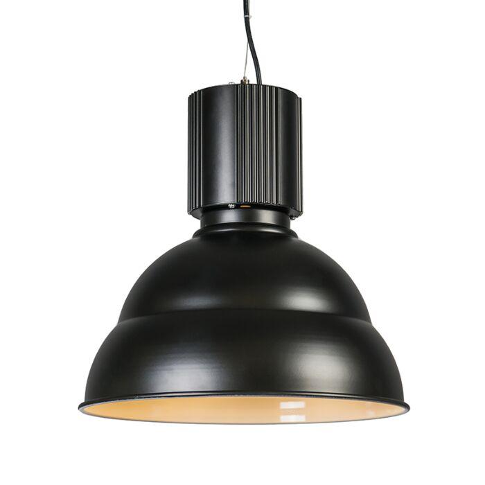 Suspension-Industrie-45-cm-noir