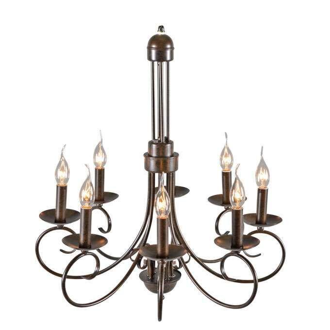Lustre-antique-Romantica-60-cm-8-lumières