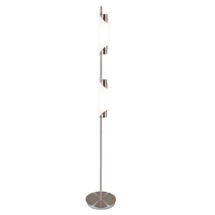 Lampadaire-Organ-2-lumières-acier