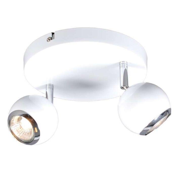 Spot-Buell-2-lumières-blanc