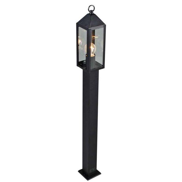 Lampadaire-extérieur-Bussum-100-cm-noir