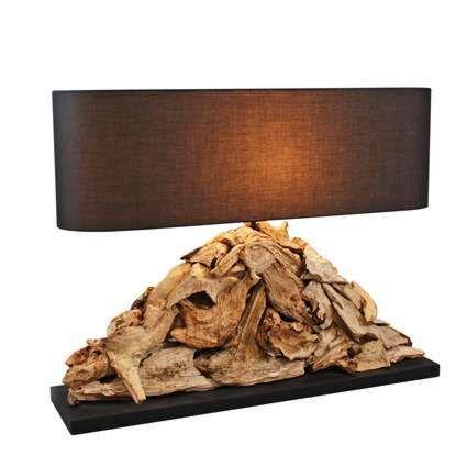 Lampe-de-table-Raman-Pymia-abat-jour-brun