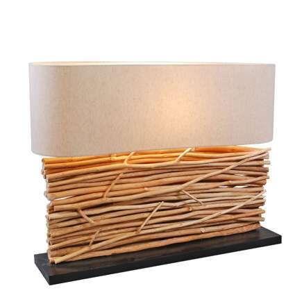 Lampe-de-table-Maha---abat-jour-lin