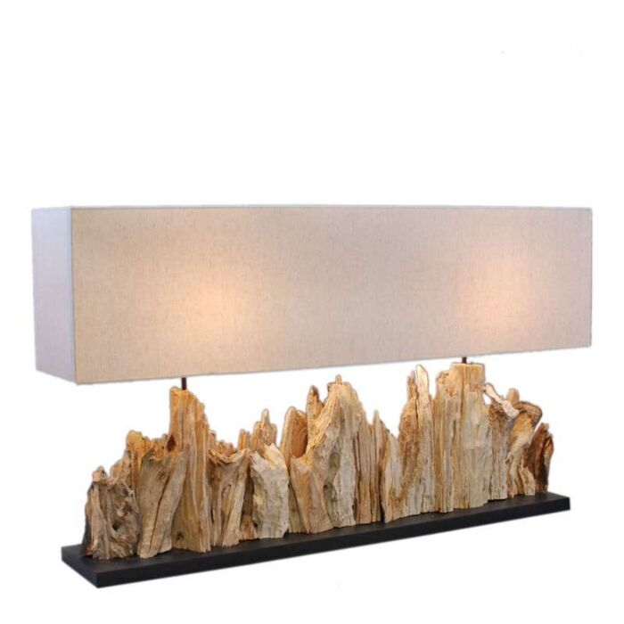 Lampe-de-table-Thak-Extra-Grande-115cm-Abat-jour-en-lin