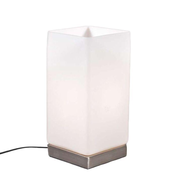 Lampe-de-table-Accu-blanc-opale