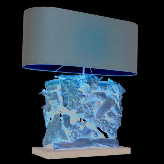Lampe-de-table-Raman-Recta-60-cm-abat-jour-brun