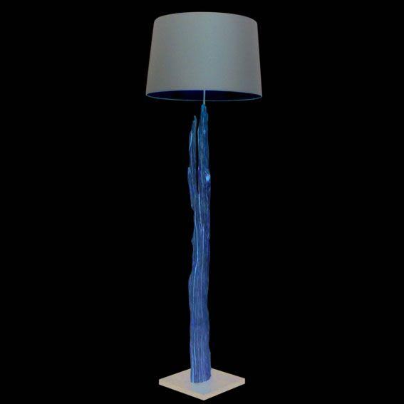 Lampadaire-Aranya-175-cm-abat-jour-marron