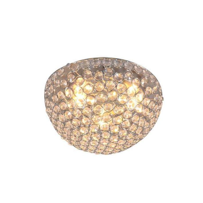 Plafonnier-Sfera-40-lumières-chrome