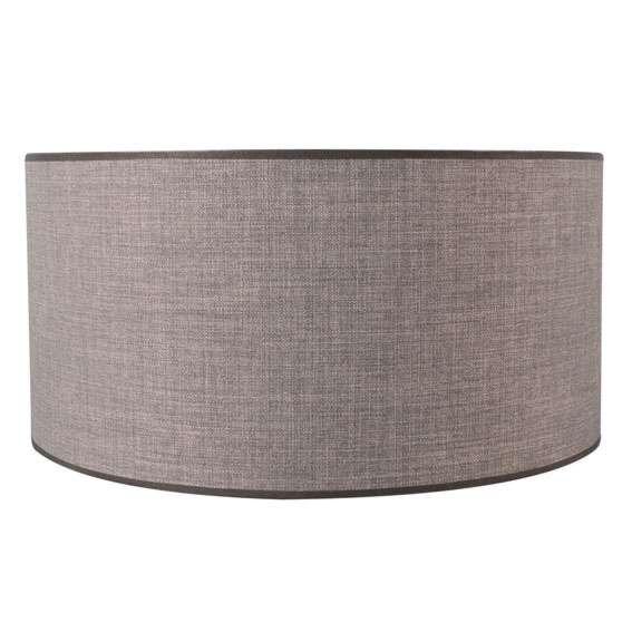 Abat-jour-50/50/25-marron-gris
