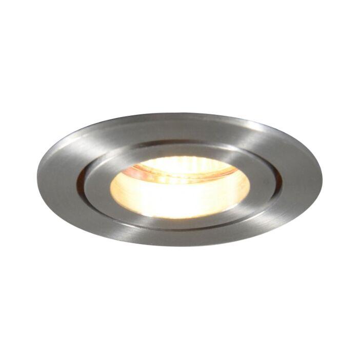 Spot-encastré-MR11-aluminium