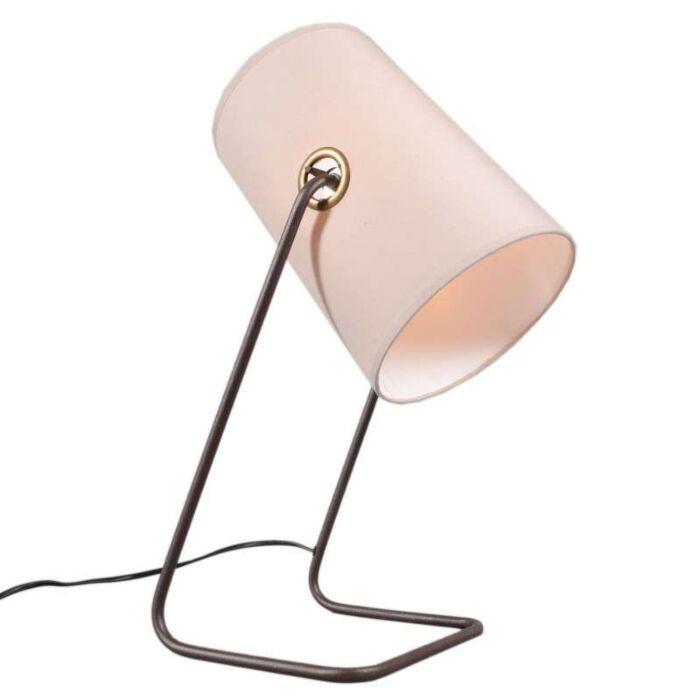 Lampe-de-table-Benzina-marron-beige