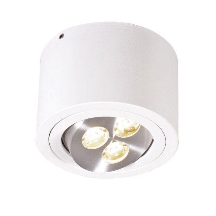 Plafonnier-Keoni-LED-blanc