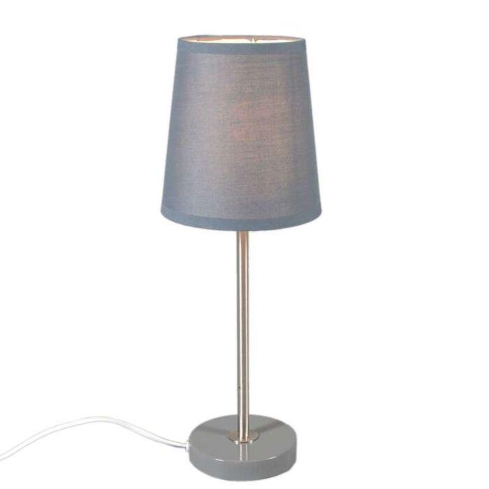 Lampe-de-table-Notte-gris
