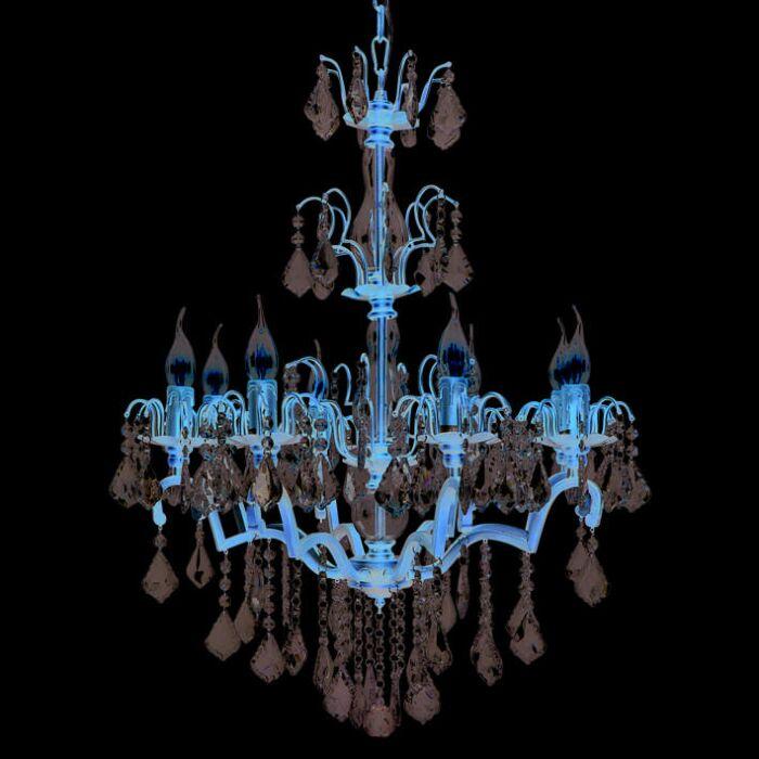 Lustre-Barocco-8-lumières-antique