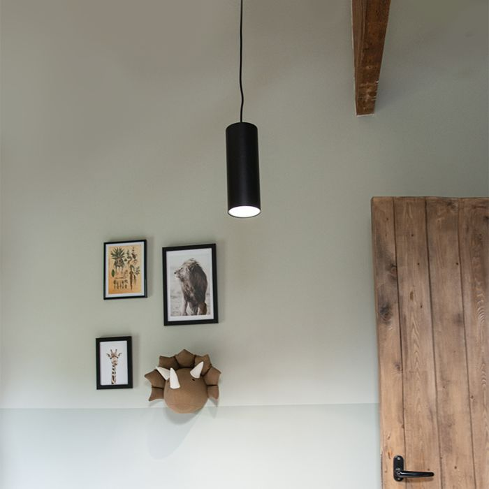 Lampe-suspension-noire---Tubo