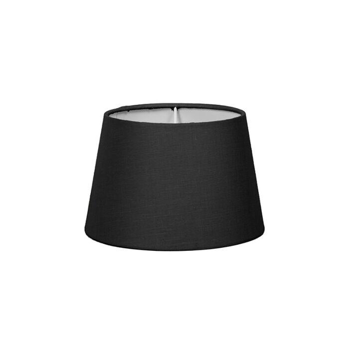 Abat-jour-18cm-rond-SD-E27-noir