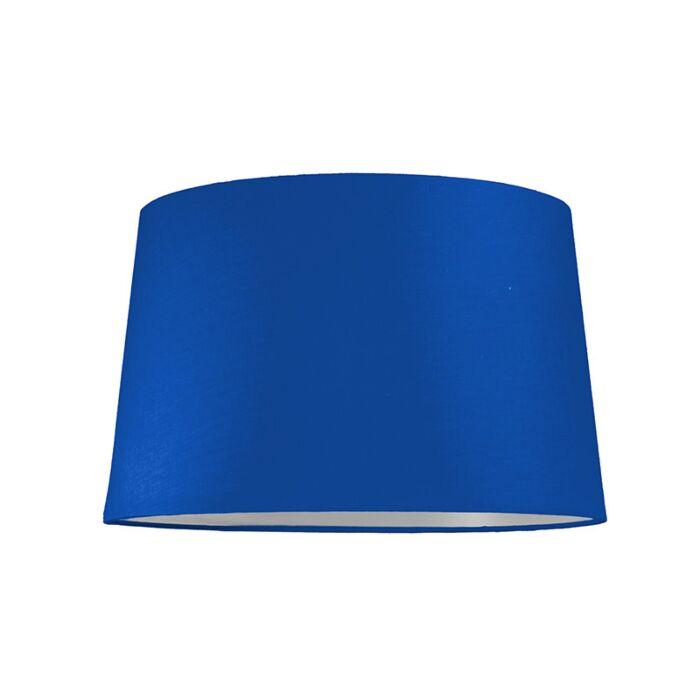 Abat-jour-40cm-rond-SU-E27-bleu