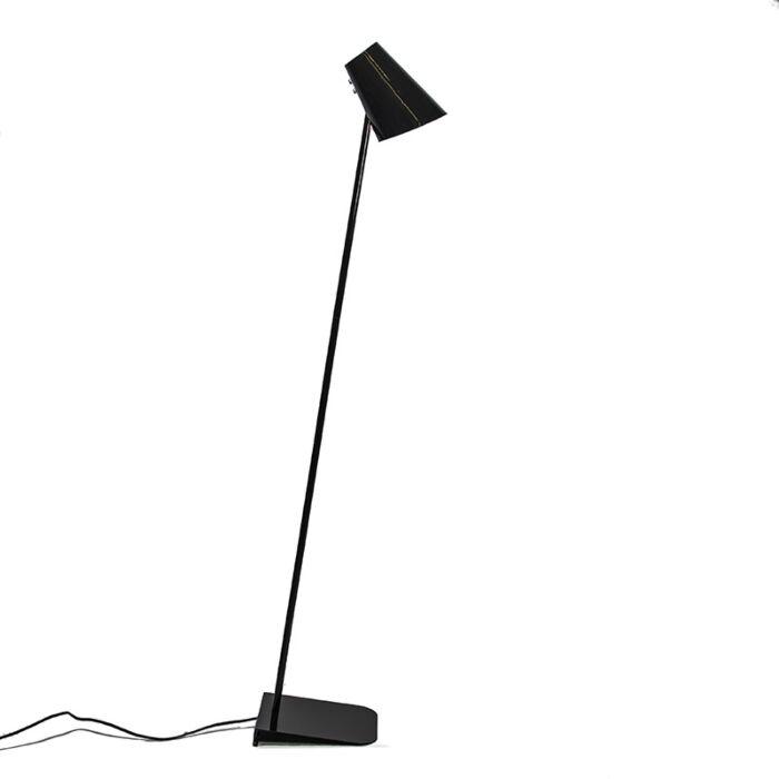 Lampadaire-Straight-noir