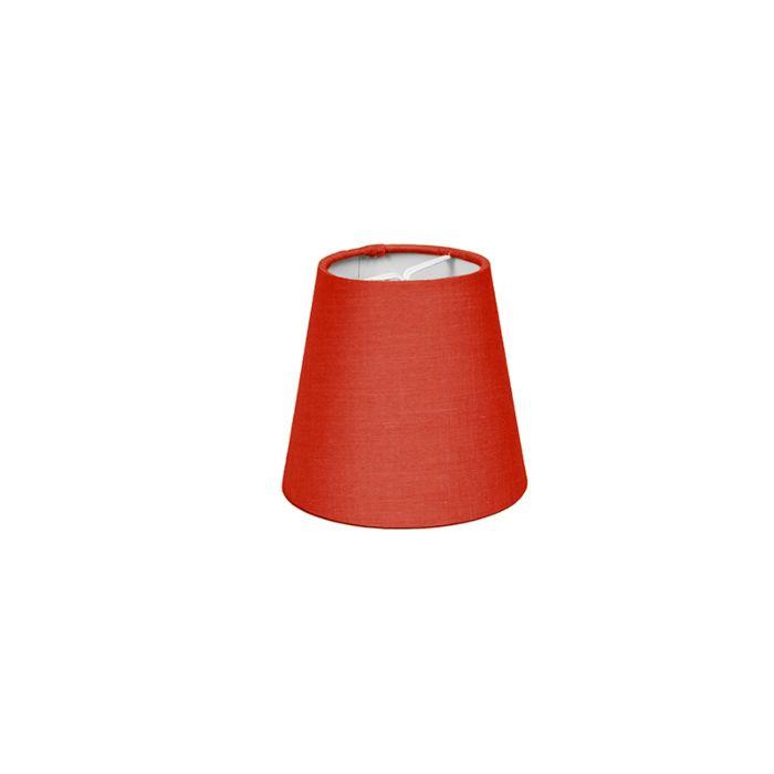 Abat-jour-pince-12cm-R-SC-rouge